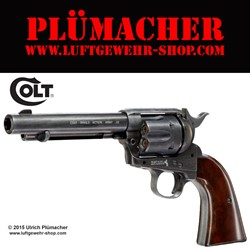 Bild von Colt Single Action Army 45 Peacemaker Antik CO2 Revolver 4,5 mm