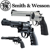 Bild für Kategorie Smith & Wesson CO2 Revolver - Pistolen