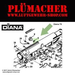 Explosionszeichnung luftgewehr diana 75 Luftgewehr Diana