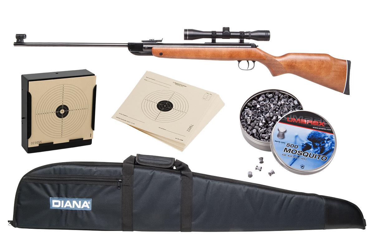 Diana commemorative buchenholz knicklauf luftgewehr kal