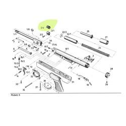 luftpistole diana mod 5 ersatzteile bauteile und zeichnung diana 5 luftgewehr shop. Black Bedroom Furniture Sets. Home Design Ideas