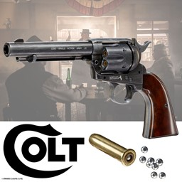 Colt SAA 45 CO2 Revolver Single Action Army 45 Peacemaker für 4,5 mm Stahlrundkugeln