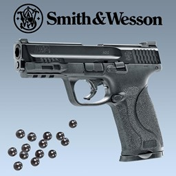 Smith & Wesson M&P9 2.0 T4E CO2 Pistole für Gummigeschosse und Pepperballs cal. 43