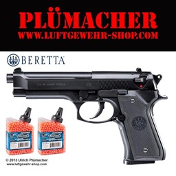 Bild von Airsoft Pistole Beretta M9 World Defender 6 mm BB Federdruck Softair