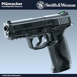 Smith & Wesson M&P 40 CO2 Pistole 4,5 mm Steel BB mit einem 19 Schuss Magazin