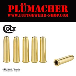Bild von Ladehülsen für den Colt Single Action Army 45 CO2 Revolver 4,5 mm